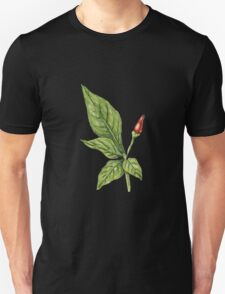 Chilly plant 2- red fruits T-Shirt