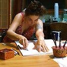 y drawing by evon ski
