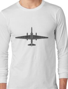 Lockheed U-2 (TR-1) Dragon Lady Long Sleeve T-Shirt