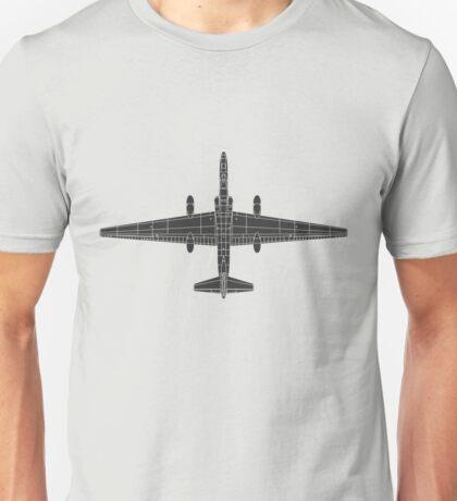 Lockheed U-2 (TR-1) Dragon Lady Unisex T-Shirt