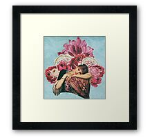 Dripping With Roses Framed Print