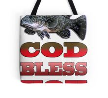 Cod Bless You Tote Bag