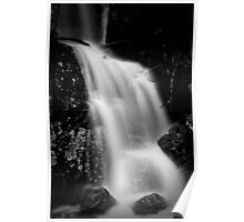 Cliff Face Waterfall Poster