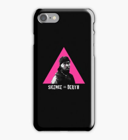 Omar Little: Silence = Death iPhone Case/Skin