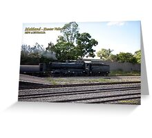 Steam Loco 3526 -East Maitland NSW Greeting Card