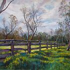 'Barmah Muster Yards' by Lynda Robinson