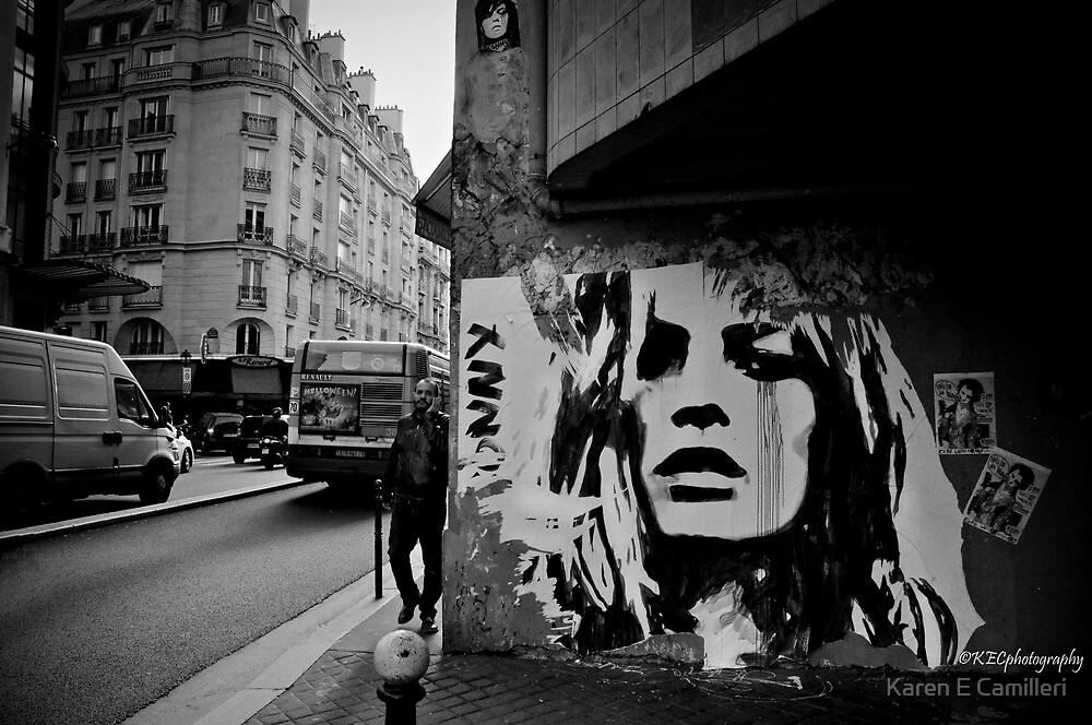 Parisienne Grunge by Karen E Camilleri