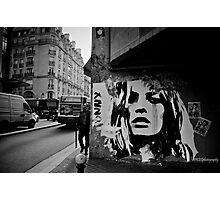 Parisienne Grunge Photographic Print