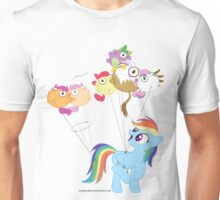 Balloon dash Unisex T-Shirt