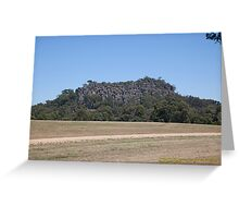 Hanging Rock (Mt Diogenes) Macedon Ranges, Australia Greeting Card