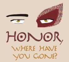The Angst of Zuko's Honor by OtakuFireLord