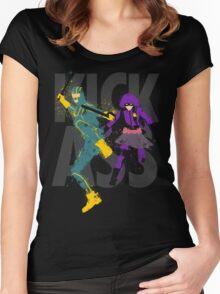Kick Ass Women's Fitted Scoop T-Shirt