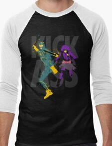 Kick Ass Men's Baseball ¾ T-Shirt
