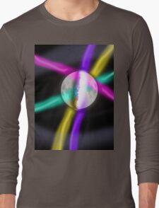 retro moon Long Sleeve T-Shirt
