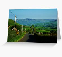At one with the Glens  Greeting Card