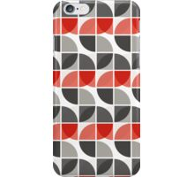 Split Circles S Drop Red iPhone Case/Skin