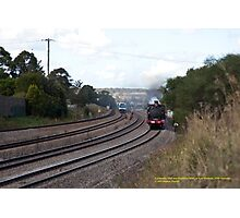 Steam Loco 3265 & Endeavour DMU - East Maitland NSW Photographic Print