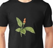 Chilly plant 1- orange fruits Unisex T-Shirt