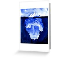 The Iceberg Greeting Card