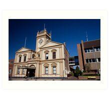 Historic Maitland Town Hall (1884), Maitland NSW Australia Art Print