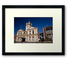 Historic Maitland Town Hall (1884), Maitland NSW Australia Framed Print