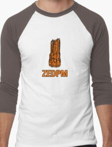 ZedPM, now in powerful orange! Men's Baseball ¾ T-Shirt