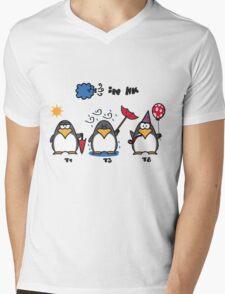 Hong Kong Typhoons Mens V-Neck T-Shirt