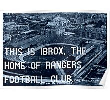 Rangers Football Club Poster