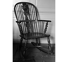 Rocking Chair  Photographic Print