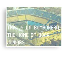 Boca Juniors Canvas Print