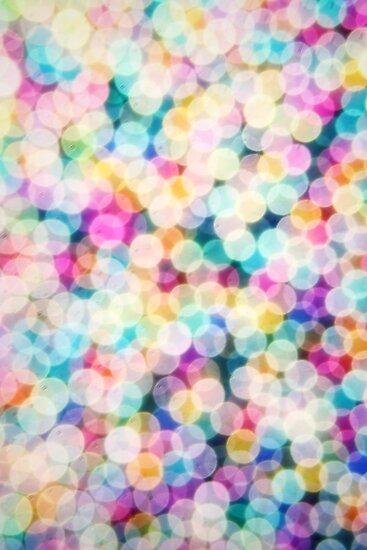 Rainbow Bokeh by Sharon Johnstone