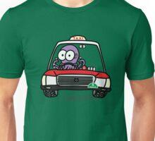 Taxi Octopus in Hong Kong Unisex T-Shirt