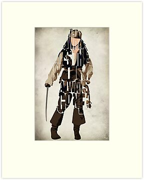 Captain Jack Sparrow by A. TW