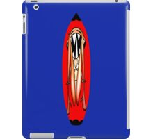 Surfboard Angry Bikini Woman iPad Case/Skin