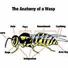 The Anatomy of a Wasp by ToruandMidori