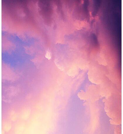 Cotton Candy Sky Sticker