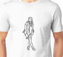 Skater Chick Unisex T-Shirt