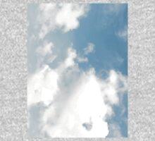 Sky Blue Sky One Piece - Short Sleeve