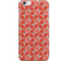 Split Circles Pinwheel iPhone Case/Skin
