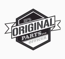 100% original parts...officer Kids Tee