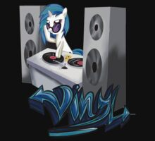 Vinyl Dj-ing by PoisonicPen