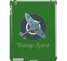 RAF Fighter Vintage Spirit Spitfire Logo Graphic iPad Case/Skin