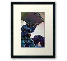 Angry God  Framed Print