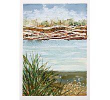 Riverbank Photographic Print