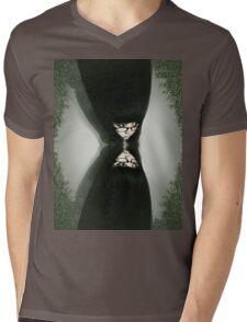 Virgin Widow Mens V-Neck T-Shirt