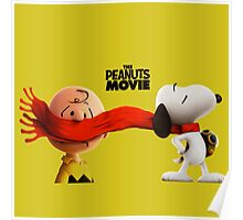 charlie brown and snoopy the peanuts movie Poster