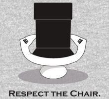 Respect The Chair Kids Tee
