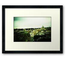 There's Nothing Past This - Lomo Framed Print