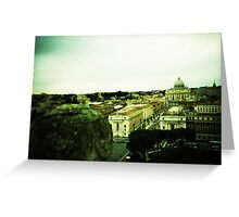 There's Nothing Past This - Lomo Greeting Card