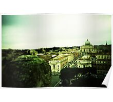 There's Nothing Past This - Lomo Poster